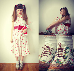 Lumija Kamilija - Vintage Dress, Handmade Shameja Shoes - Hello sweet Mary Lou, goodbye heart!!!