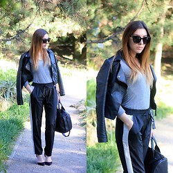Ana K. Psycho Couture - Alexander Wang Rocco Bag - Tracksuit