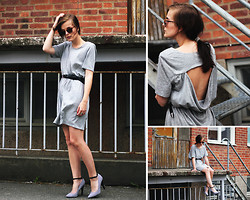 Ingrid Wenell - Ray Ban Sunglasses, Monki Dress, New Look Shoes - Set your thoughts on fire