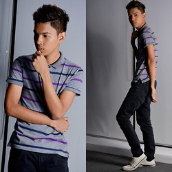 Jeront Villagomez - Lee Cooper Shoes, Folded N Hung Polo Shirt - The Darkest Side