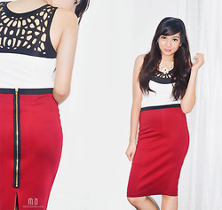 Maricar De Dios - Forever 21 Pencil Skirt - Dressing For Work
