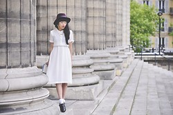 Leeloo P - Dress Dress Gallery, Asos Shoes, Zara Hat - Romantic day ♥