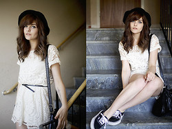 Sabina Olson - Vans, Sheinside Lace Dress - Over my dead body #94