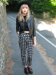 Sally-Anne Holliday - Underground Penny Loafers - Pyjama pants