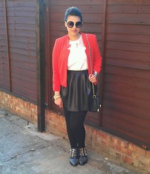 Kiran A - Topshop Crepe Notch Jacket - Summer is finally here!