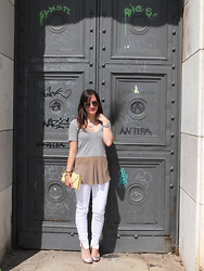 Vanessa P. - Isabel Marant Shirt, Zara Jeans, Louis Vuitton Bag - Here Comes The Sun
