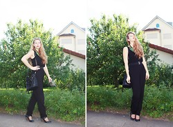 Elaine Storm - H&M Jumper, Tamaris Wedges - Jumpsuit love