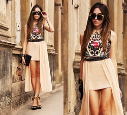 Flávia Desgranges van der Linden - Sheinside Dress, Chic Wish Sunglasses, Choies Heels - Totem