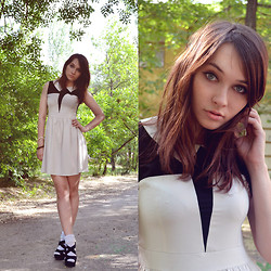 Natalie Believe - Nyantet Dress With Collar, Lace Socks - Good morning!