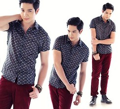 Richard Faulkerson - F&H Top, F&H Pants - Alden Richards