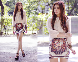Aileen Belmonte - Banggood Bodycon Skirt - Elaborated