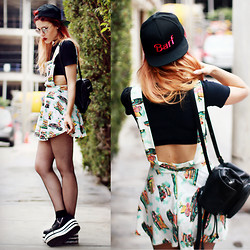 Lua P - Dress, Snapback, Sneakers - What Doesn't Kill Us...