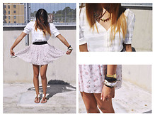 Jay Santiago - Wandering Soles Sandals, Asos Necklace, Rastaclat Black Bracelet, Tissot Watch - Patisse