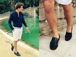 Aldo V. - Yorn Moccasins, Antony Morato Shorts, Vintage Shirt, Aldo Watch - My world is empty without you