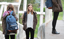 Olivia G - Asos Jacket, Milli Lulo Jumper, Herschel Bag, Nobody Denim Jeans, Asos Boots - I'm nowhere and it's now