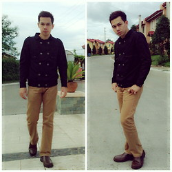 Earth Sagun - Penshoppe Statement Jacket, Human Chino, Milanos Shoes Boat - STATEMENT on its own right