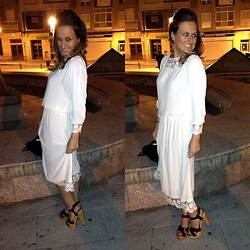 Tu Personal Shopper By Marta Antolinez - Zara Dress, Zara Sandals - Romantic dress!!!