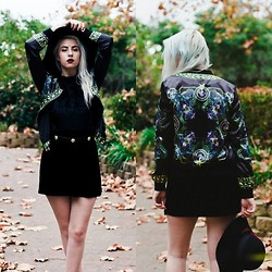 Alexia Bambi - Untitled Label Panther Jacket - Dark Paradise