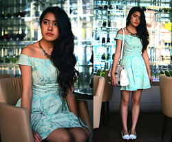 Aivi Nguyen - Topshop Dress - I Can't Speak French