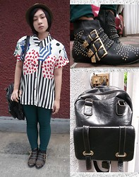 Althea B - Pulp Embellished Boots, Kaymar Alekzis Bags Janella, Viva La Manika The Artiste Top - Special One