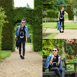 Agata P - Denim Jacket, Top, Primark Pants, Primark Creepers - Rockingham Castle