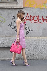 Melissa Cabrini - Roccobarocco Dress, Christian Dior Bag, Miu Shoes - I Am Not a Marshmallow!!!