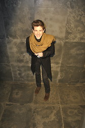 Asier Aramburu Balmaseda - Zara Scarf, Zara Coat, J. Crew Pants, Massimo Dutti Shoes - Nightmare