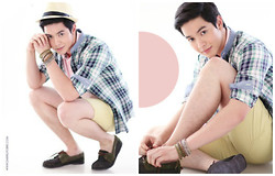 Richard Faulkerson - F&H Top, G Star Raw Shoes, G Star Raw Shorts - PINOY MAGAZINE