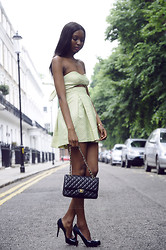 Natasha N - Asos Dress, Chanel Bag, Christian Louboutin Heels - I'm feelin' flirty
