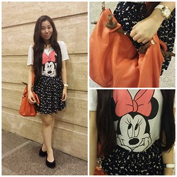 Mikee Yu - Forever 21 Top, H&M Skirt, Milano Bag, Tissoy Watch, Crocs Flats - A dream is a wish your heart makes
