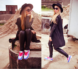 Sylwia Gaczorek - H&M Hat, Choies Jacket, Nike Shoes - Wild West