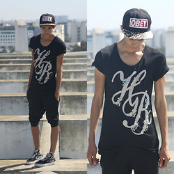 Amine Ouazar - Obey, Zara, Springfiled, Vans - Summer Time <3