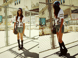 Archanaa ☂ - Obey Snapback, Forever 21 Shorts - 1992