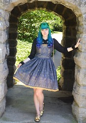 Christina W - Toxicity Notre Dame Dress - My Notre Dame print! Giving away this dress on my tumblr