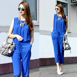 Jen A. - Choies Jumpsuit - B for BLUE