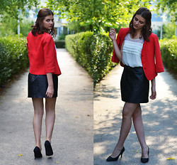 Alexandra Gheorghe -  - THE LEATHER SKIRT