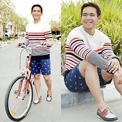 Lo Pascual ⚓ - H&M Sweater And Shorts - OSADxADW: Playtime
