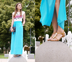 Katarzyna Tarach - Reserved Skirt, Bershka Shirt, Venezia Sandals - Flash!