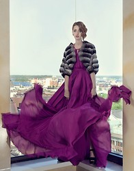 Lady Fur Welovefur - Carlo Ramello Coat, Plein Sud Dress - Air of freedom