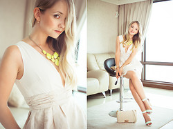 Olga Choi - Udobuy Dress, Udobuy Heels - Candy lover