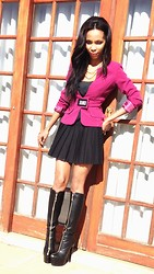 Toni Khumalo - Pink Jacket, Zoom Shoes Boots, Meltz Skirts - Boots and All!
