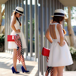 Hallie S. - Zara Dress - July 4th