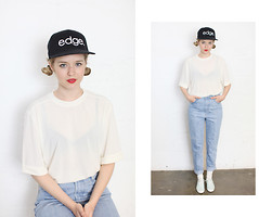 THE WHITEPEPPER - The Whitepepper Edge Snapback - Mom Jean simplified