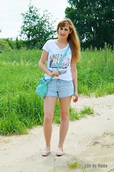 Magda S. // Life by Mada - Atmosphere Bag, H&M Shoes, Reserved T Shirt - The best summer!!