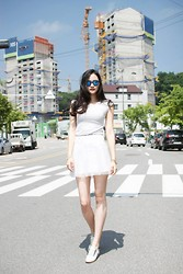 Ji young Wu - Streetj See T Skirt - Spektre / see through summer