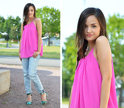 Josefine G - Bikbok Top - Pink like candy