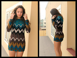 Jo Fernandez - H&M Tribal Print Mini Dress - Who says I can't?