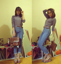 Cancalita Anindyaputri - Nobody Old Jeans, Vintage Bad, Lm For Hardware Belts, Times Glasses, Up Wedges - RECYCLE!