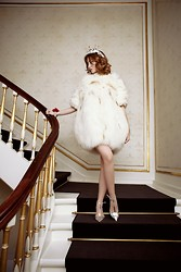 Lady Fur Welovefur - Kopenhagen Fur Dress - It's a kind of magic