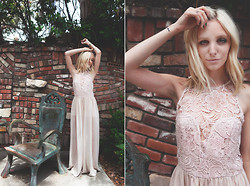 Amber Saylor - Shop Akira Lace Romper - Killing Me Softly.